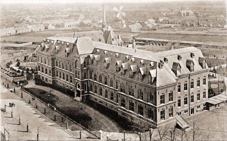 Missiehuis Rooi Harten, Bredaseweg Tilburg. Foto Regionaal Archief Tilburg.