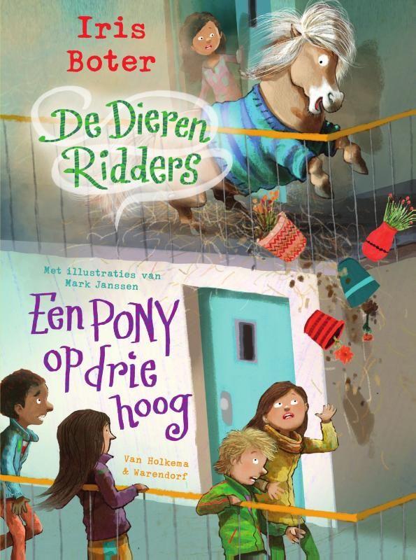 Op Marktplaats ontdekken Nora en haar vrienden een pony, Toos. Met Nora's verjaardagsgeld doen ze een bod van vijftig euro. Dat is genoeg, want ze mogen de pony de volgende dag al ophalen. Alleen waar laat je een pony? Het kan bij Nora, maar die woont op de derde verdieping. € 11,99