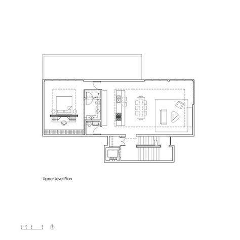 C-House,Upper Floor Plan
