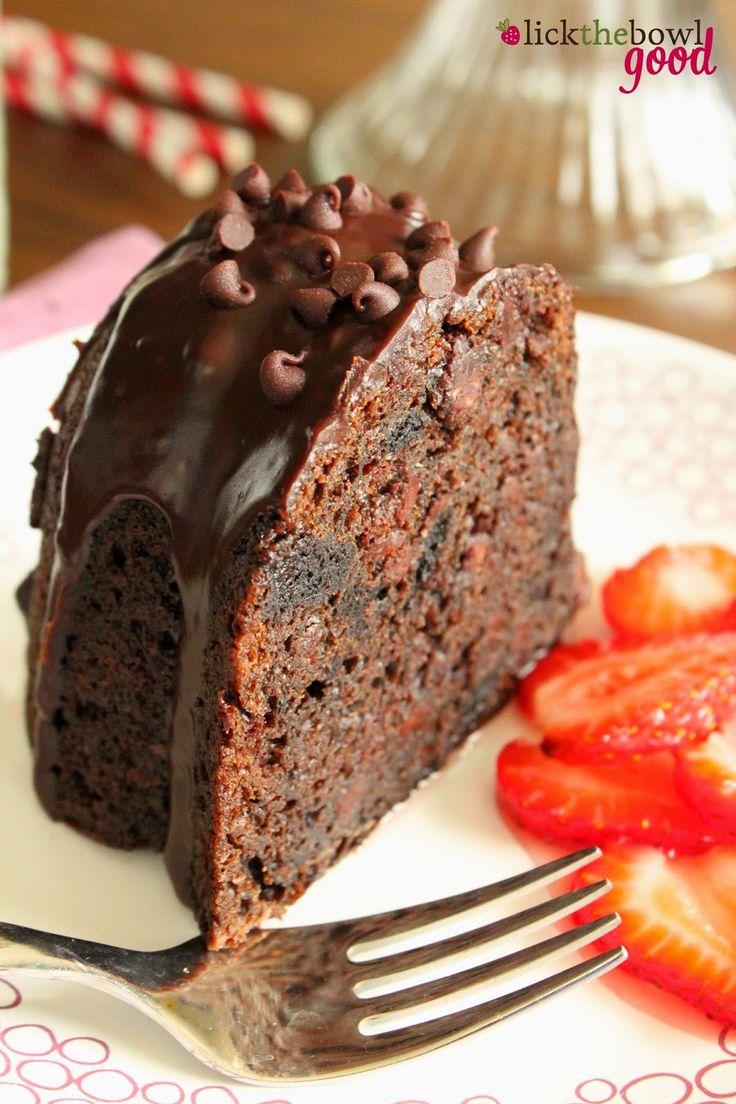 Lick The Bowl Good: Chocolate Fudge Oreo Bundt for National Chocolate Day!