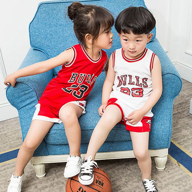 Special offer New Kids Sport Clothes Summer Casual Basketball Boys Clothing Sets Children Vest+Short Pants Sport Suit for Boy Girls Sportswear just only $14.98 with free shipping worldwide  #boysclothing Plese click on picture to see our special price for you