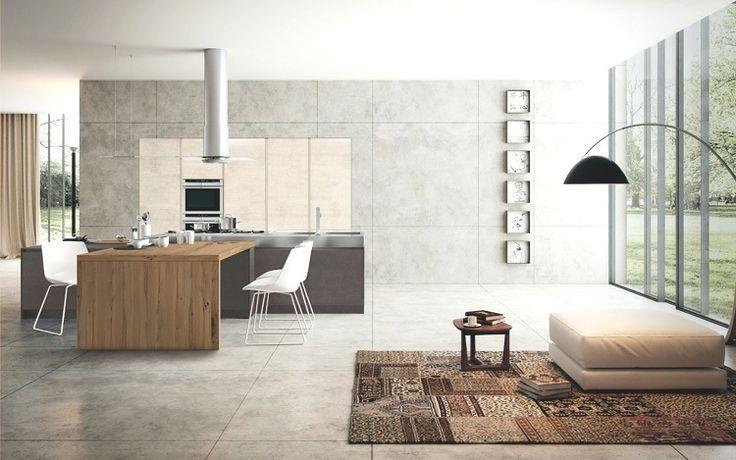Modello Way, tecnica e design in cucina. #cucine #kitchens #arredamento