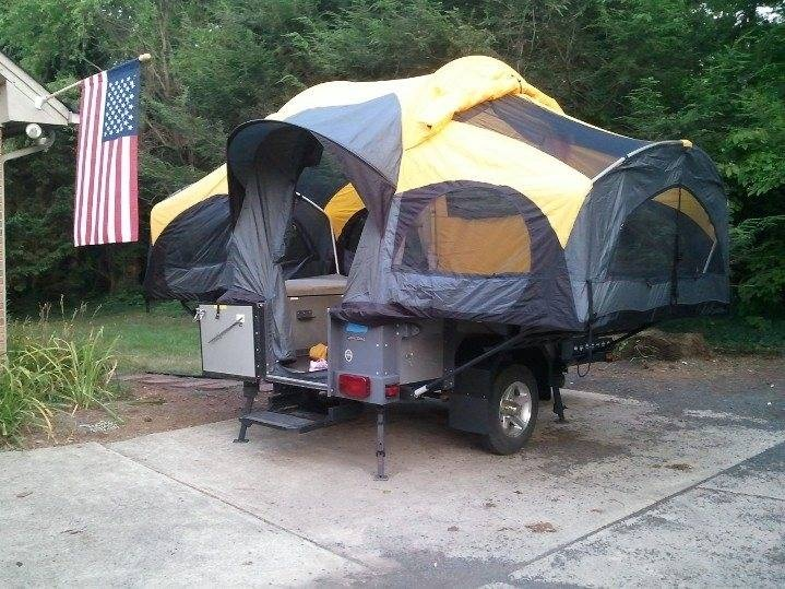 Our Camping Trailer 2009 Coleman Switchback Camping