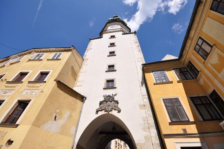 St. Michael's Gate in Bratislava, Slovakia http://timeforslovakia.com/best-of-bratislava