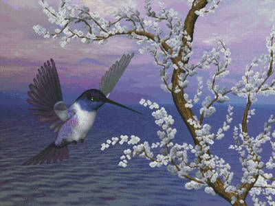 free printable hummingbird patterns bucilla cross stitch kits ebay electronics cars
