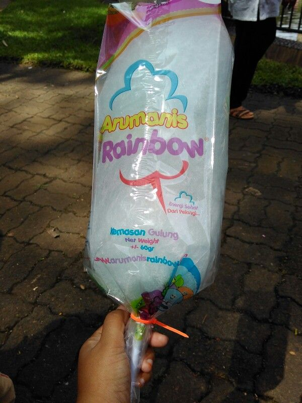 Sweet rainbow... Cotton candy...