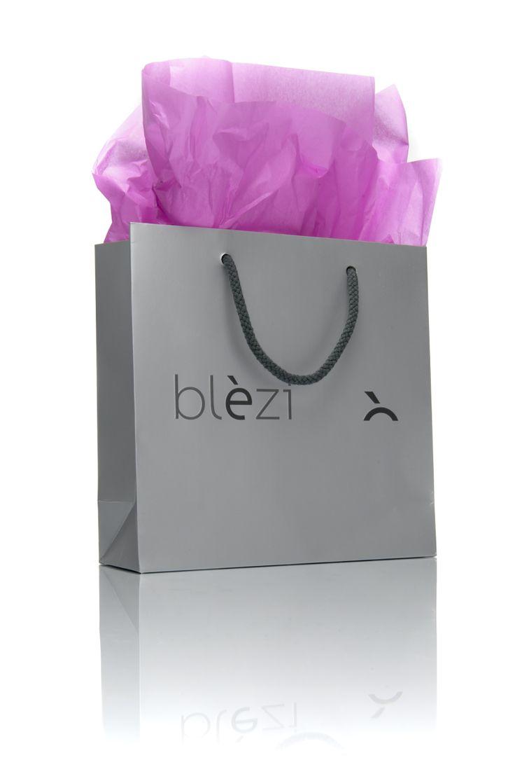 De Blèzi producten worden mooi verpakt.