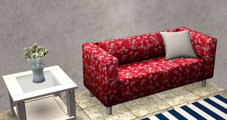TheNinthWaveSims: The Sims 2 - 13 Recolors of Ikea Loveseat