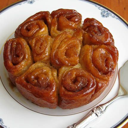 caramel sticky buns (and other goodies) made with brioche dough- from Artisan Bread in 5 Minutes a Day