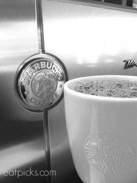 starbucks coffee mug with machine black and white Coffee Talk Friday