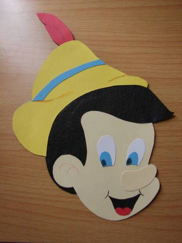 Pinocchio - PAPER CRAFTS, SCRAPBOOKING & ATCs (ARTIST TRADING CARDS)
