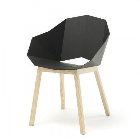 Seatshell eetkamerstoel Roijé donkergrijs/naturel | Musthaves verzendt gratis