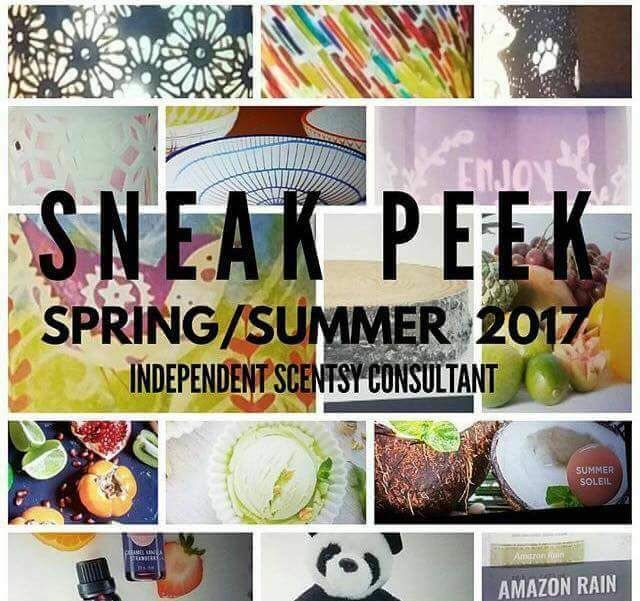 Spring Summer Scentsy Sneak Peak  Catalog breaks Mar 1st, 2017  Contact me to get yours :)