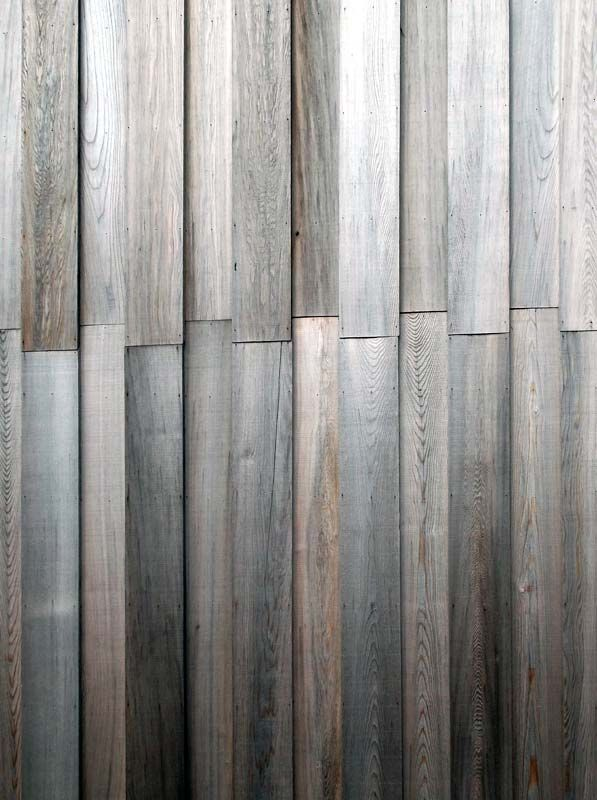 Timber cladding Detail