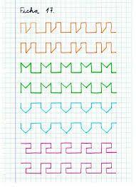 Resultado de imagen para ejercicios de caligrafia                              …