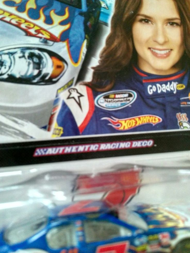 Danica Patrick Go Daddy JR Motorsports Hot Wheels NASCAR Racing 2010 Rare  #JRMotorsportsHotWheels