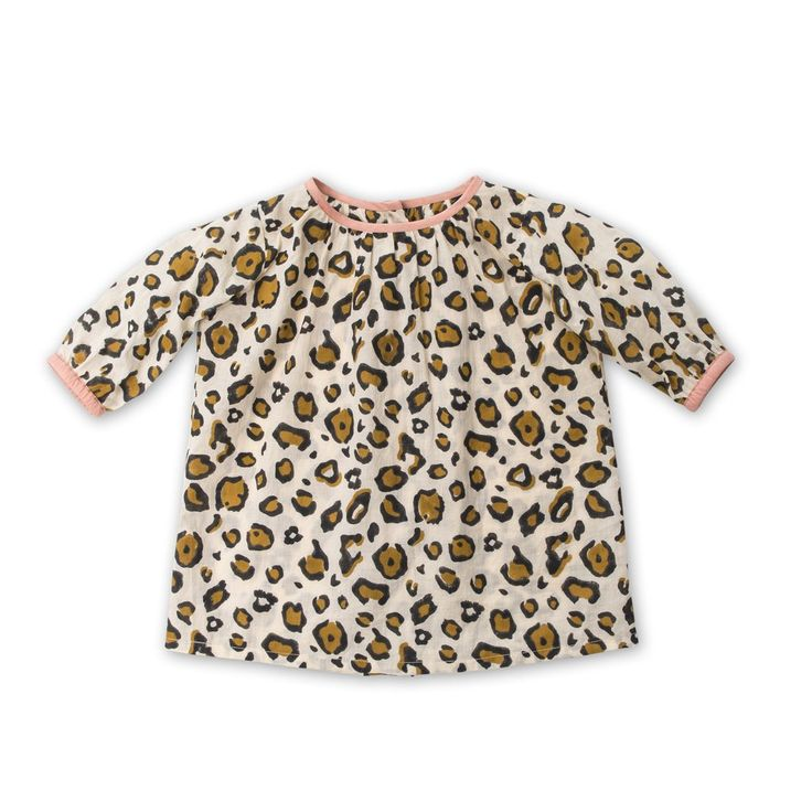 Pebbles Dress by Frankie Jones The Label (Autumn/Winter 2016) | animal print dress | Baby Style | Baby Fashion | Baby Outfit | Boho Baby