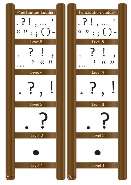 Teacher's Pet - Mini Punctuation Ladder - FREE Classroom Display Resource - EYFS, KS1, KS2, vcop, punctuate, ladders, writing, ros, wilson
