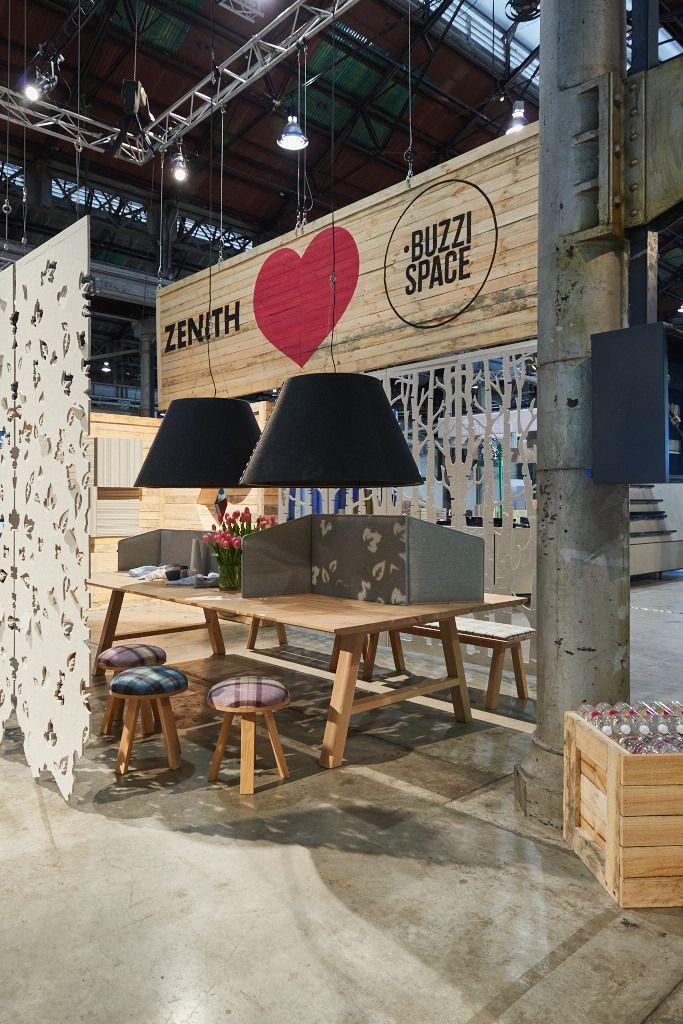ZENITH - BuzziSpace at Sydney Indesign 13-15 August 2015 |