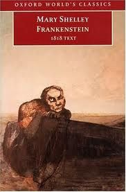 Frankenstein (1818 text) by Mary Shelley