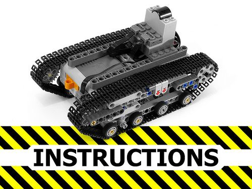 Instructions for RC tank chassis