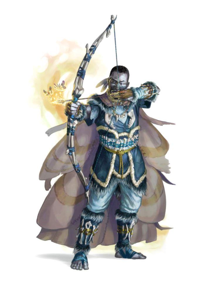 Male Duskwalker Ranger Archer - Pathfinder PFRPG DND D&D 3 ...