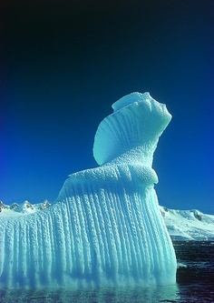 Iceberg.... There's world is art