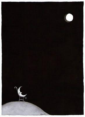 La luna tiene distintas fases, esperemos la nuestra, ya nos va a tocar. (Yo).