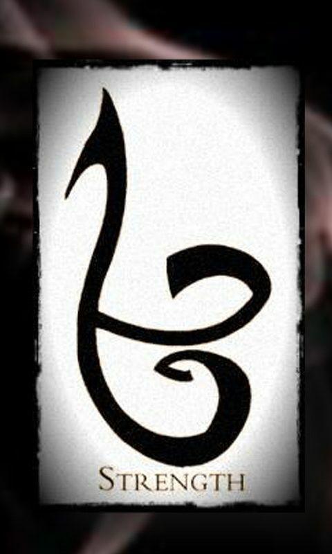 Runas: Sus Significados . Cazadores de Sombras - Strenght / Fortaleza - Wattpad