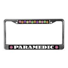 Paramedic License Plate Frame Paramedic Stuff License