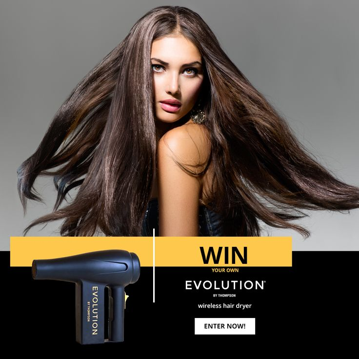 I entered to win #myEVOLUTION Wireless Hair Dryer! Enter now for your chance to win! @evolution_cares #fashion #haircare #beauty
