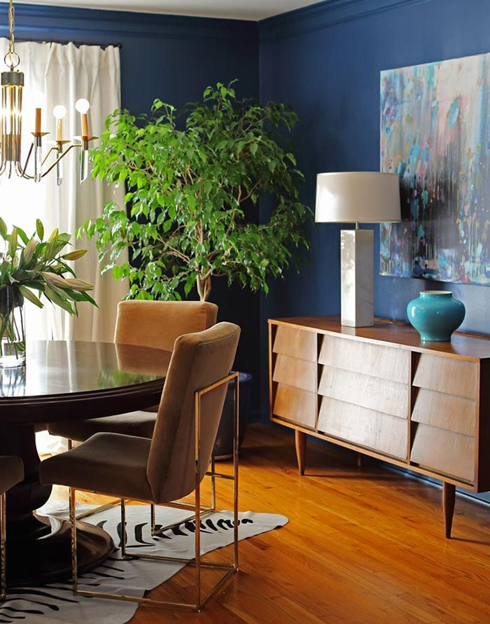 1000 ideas about blue dining rooms on pinterest dining for Navy blue dining room ideas