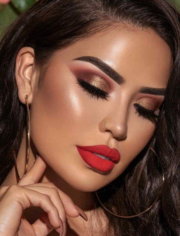 Iluvsarahii Eyeshadow Palette In 2020 Smokey Eye Makeup Red Lip