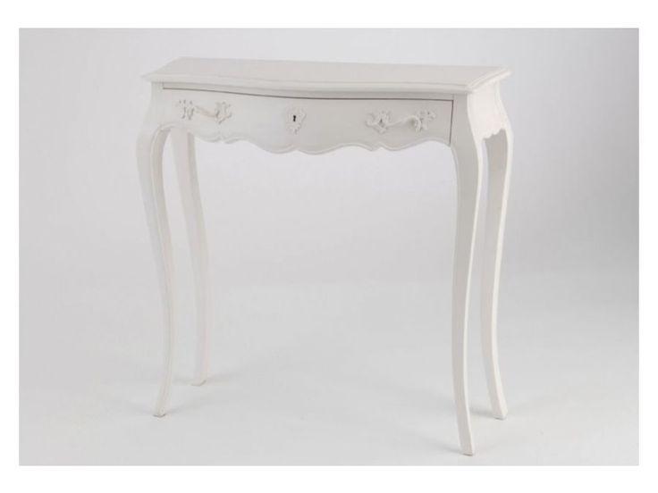 Petit meuble console muriane blanc - Vente de HELLIN - Conforama