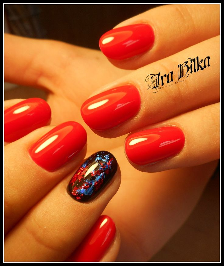 Red Nail Polish On Thumb: Best 20+ Red Summer Nails Ideas On Pinterest