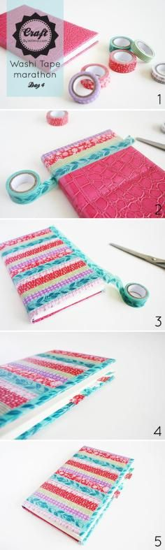 DIY Tutorial: Diy back to school / DIY notebook - Bead&Cord