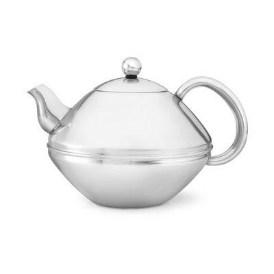 Bredemeijer B-5606BS Minuet Ceylon Shiny Stainless Steel Teapot