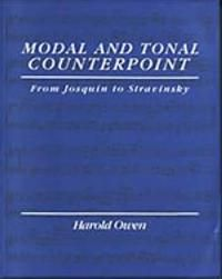 Modal and Tonal Counterpoint
