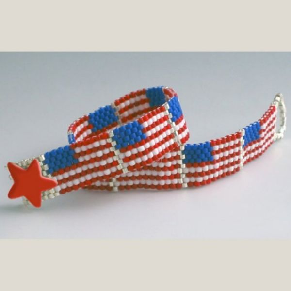 fourth of july jewelry crafts