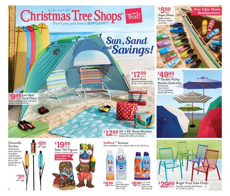 christmas tree shop flyer