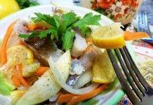 Вкуснейший салат для любителей селедки