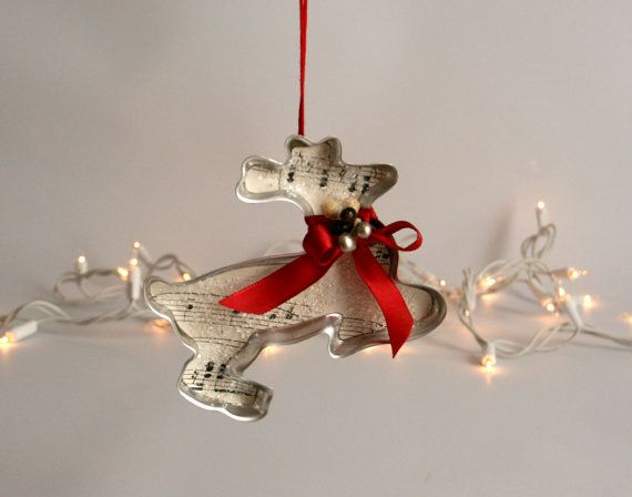 Cookie Cutter Christmas Ornament  vintage by TheHeirloomShoppe, $15.00