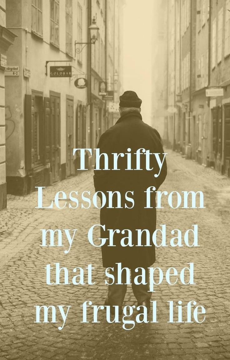 Thrifty lessons from my grandad that shaped my frugal thrifty life. He gave the best money saving advice and budgeting tips - come and have a read