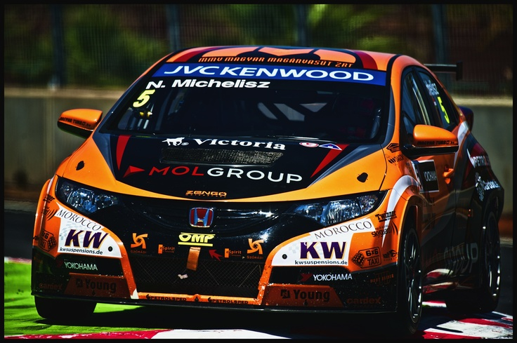 2013 Norbert Michelisz Honda Civic WTCC Zengo Motorsport by David Noels