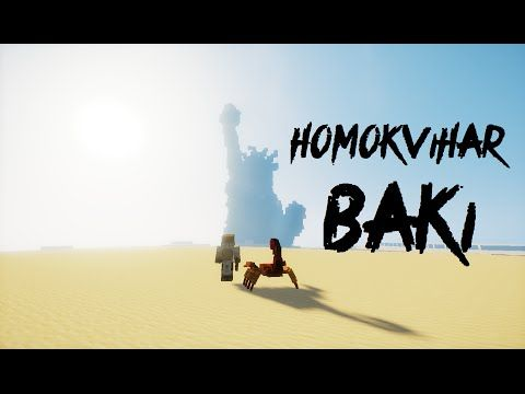Magyar Minecraft Film : Homokvihar - YouTube
