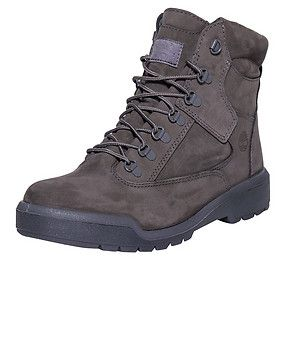 timberland 6 inch field boots grey