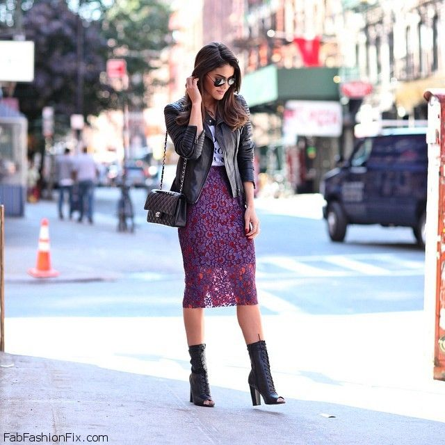 17 Best images about What to wear with LONG PENCIL SKIRT on ...