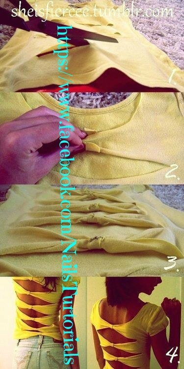 t shirt triangular back