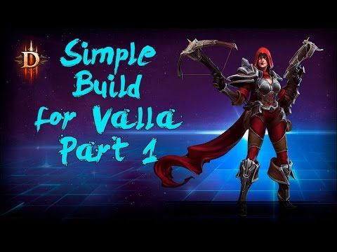 Simple Build for Valla - Heroes of the Storm 2.0