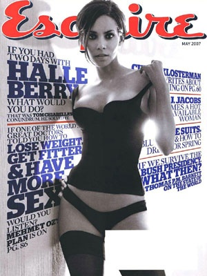 #esquire #typography #halleberry